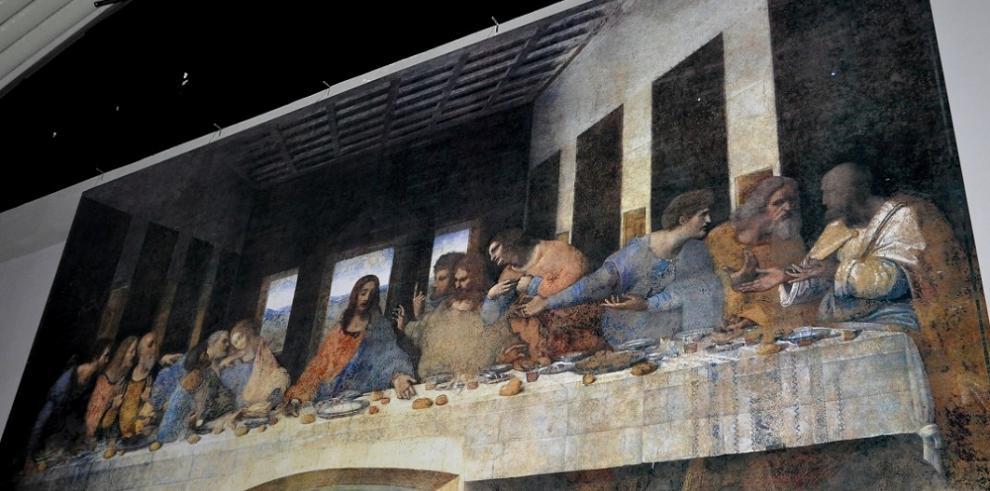 Descubrenque Leonardo Da Vinci pintó parte de un cuadro de una abadía belga