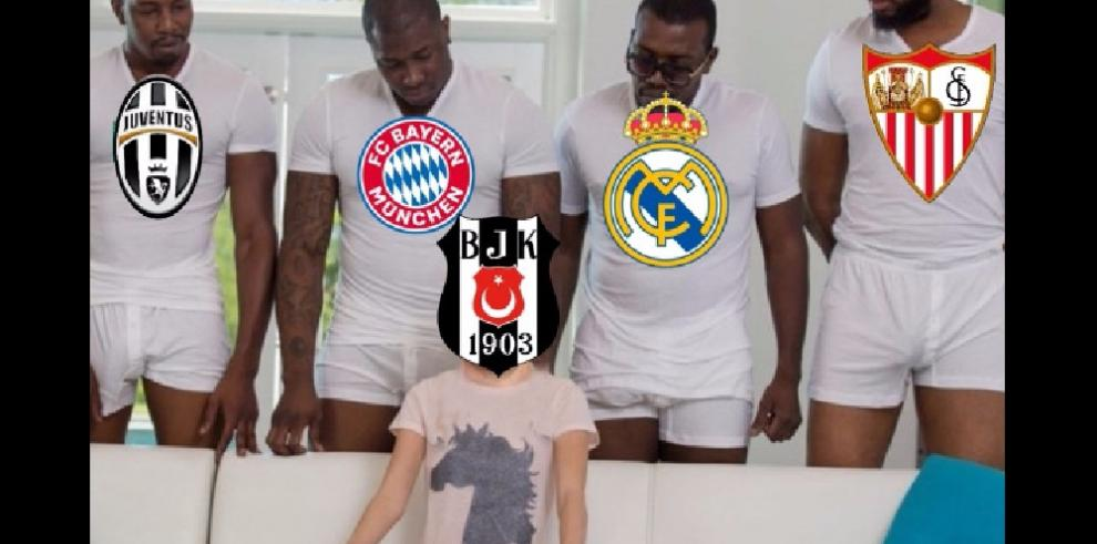 Los memes que dejo el sorteo de los octavos de finales de la Champions League