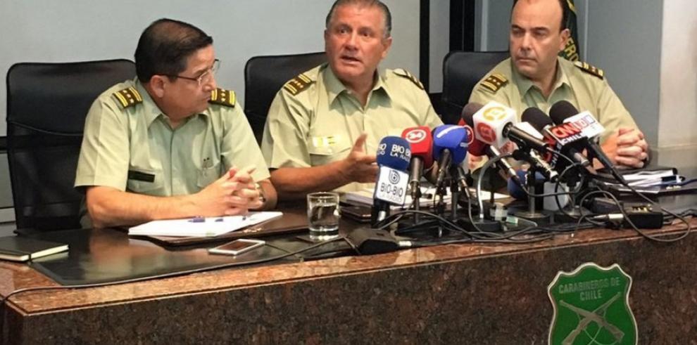 Justicia chilena investiga 9 oficiales de Carabineros por fraude