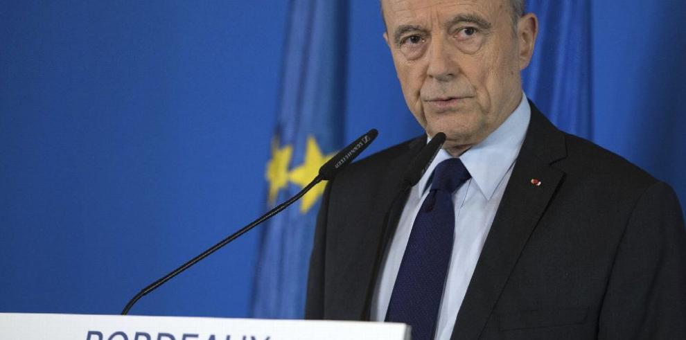 Francia: Juppé no buscará la presidencia