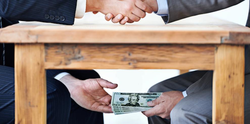 Panamá, entre los paísesdonde se pagan más sobornos, según TI
