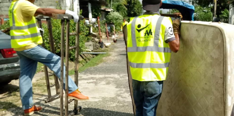 Conozca las rutas de la jornada de recolección de enseres en Juan Díaz