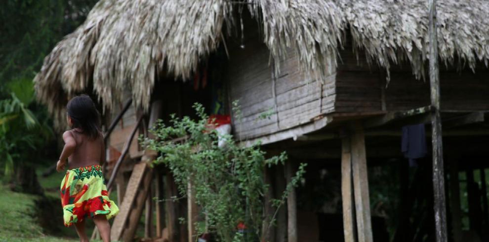 El Chagres, zona Emberá