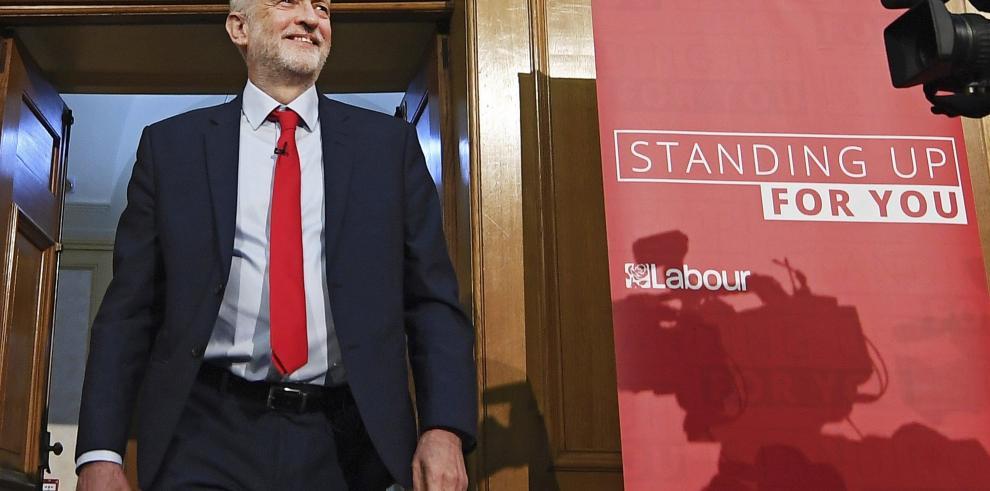 Corbyn: el Laborismo cambiará la dirección de las elecciones britanicas