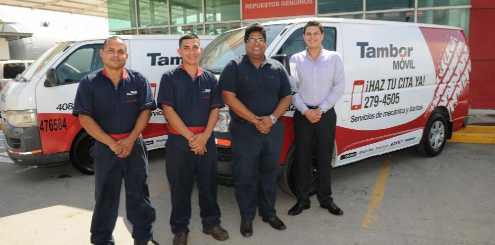 Tambor presenta servicio móvil