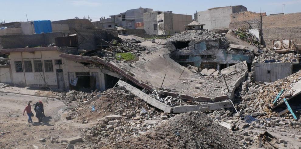 Las fuerzas iraquíes entran en un nuevo barrio de Mosul