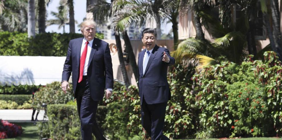 Xi pide a Trump solución 'pacífica' en Corea del Norte
