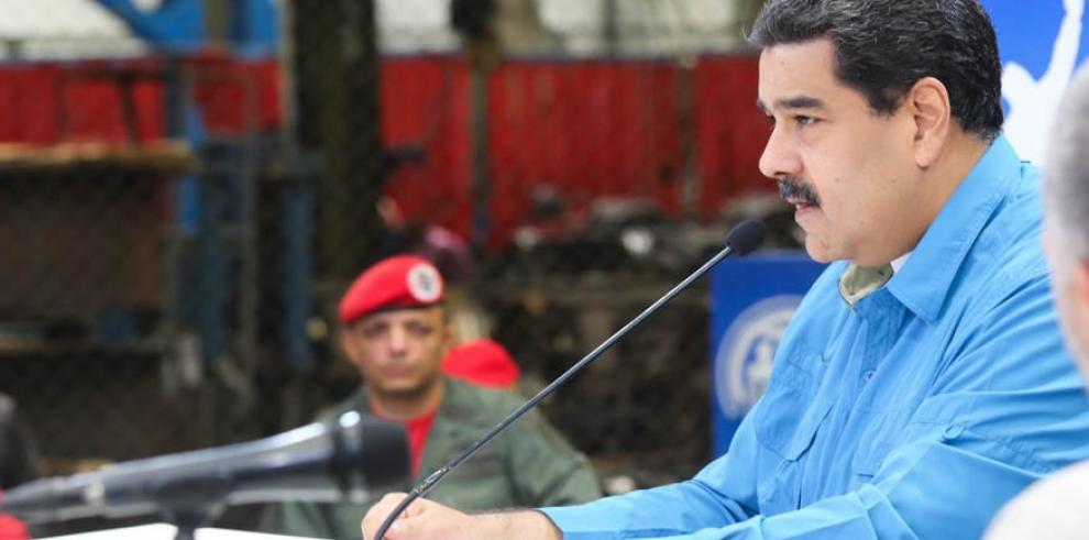 Maduro denuncia operación de EEUU para que personalidades hablen en su contra