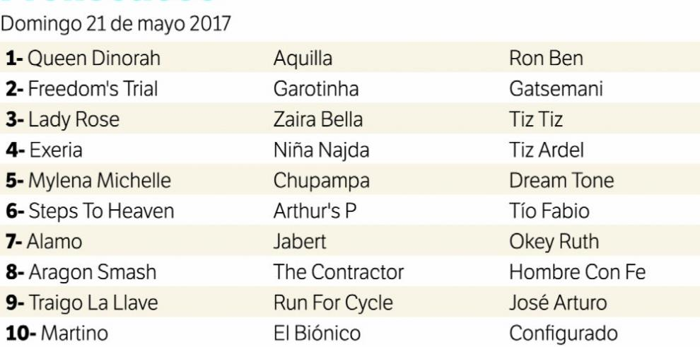 Equinos de alta clasificación se topan esta tarde