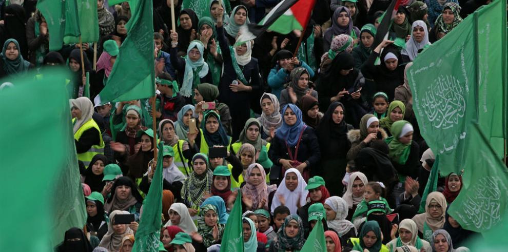 Hamás celebra su 30 aniversario con promesas de una nueva intifada