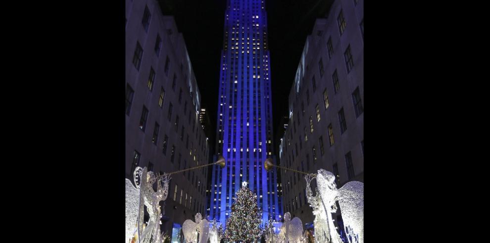ElRockefeller enciende la Navidad en Nueva York