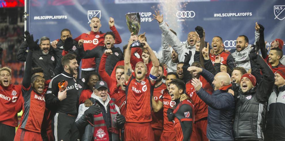 Toronto FC, donde milita el panameño Amando Cooper, clasifica a la final de la MLS