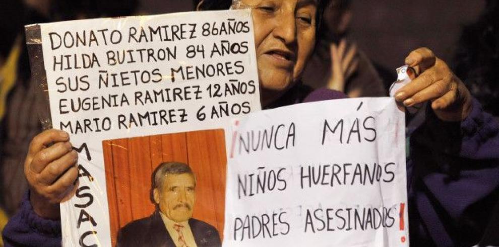 Resarcen a peruanos víctimas de Sendero Luminoso