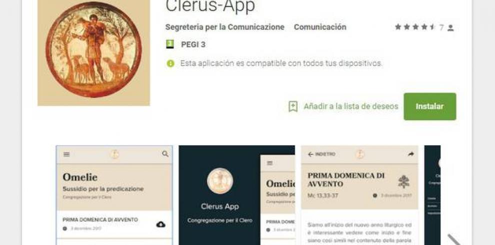 El Vaticano lanza una aplicación para preparar las homilías dominicales