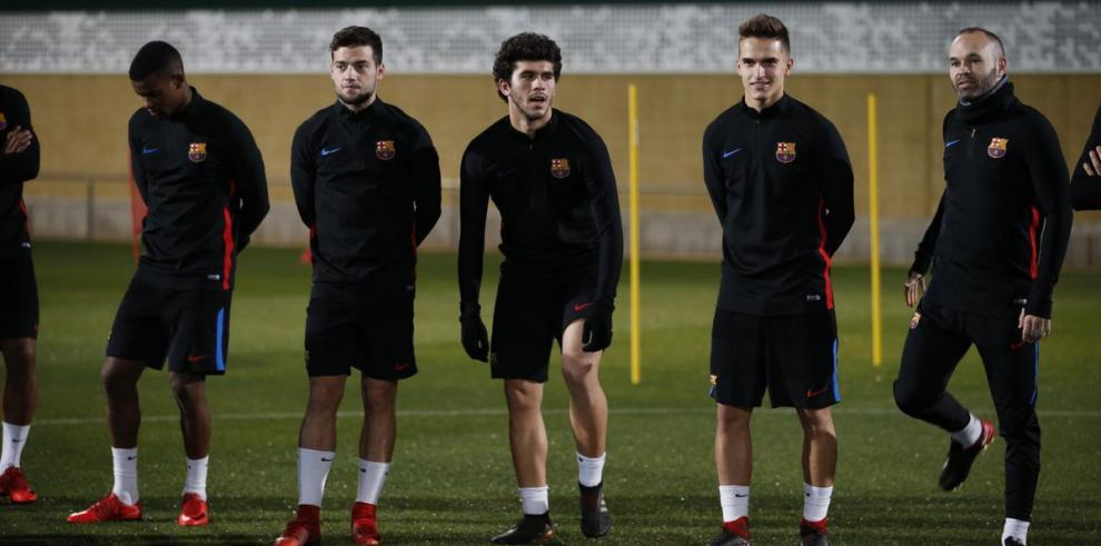 El Barcelona vuelve a los entrenamientos sin Messi, Luis Suárez y Mascherano