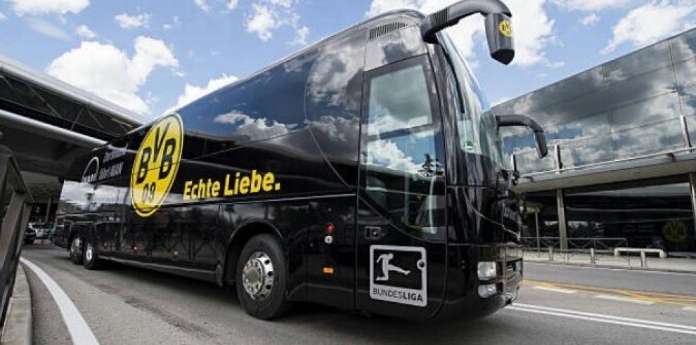 Un jugador herido deja incidente en el bus donde viajaba equipo alemán