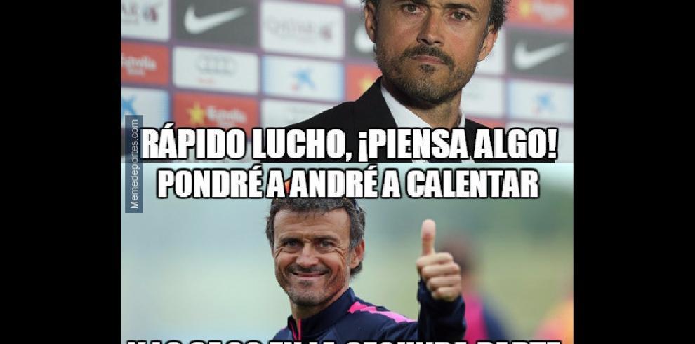 Memes de la derrota del Barcelona