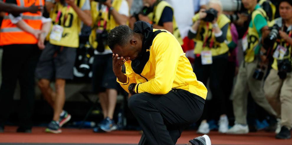 Bolt se esfuma entre calambres