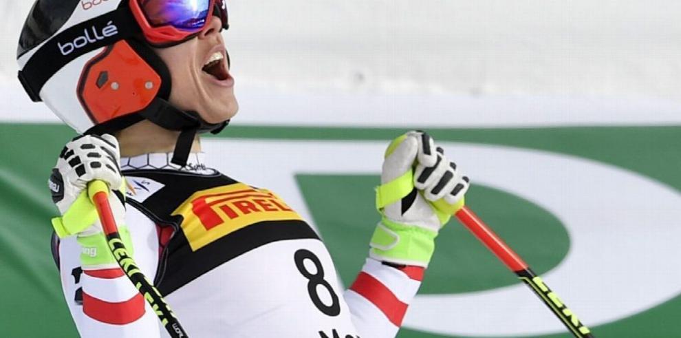 Schmidhofer con un buen inicio en esquí