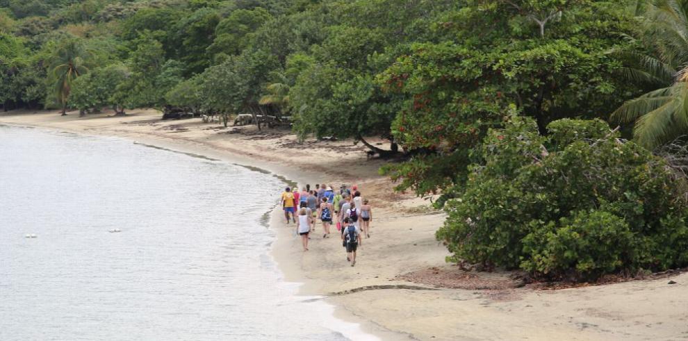 Gumbalimba, entre guacamayas y corales