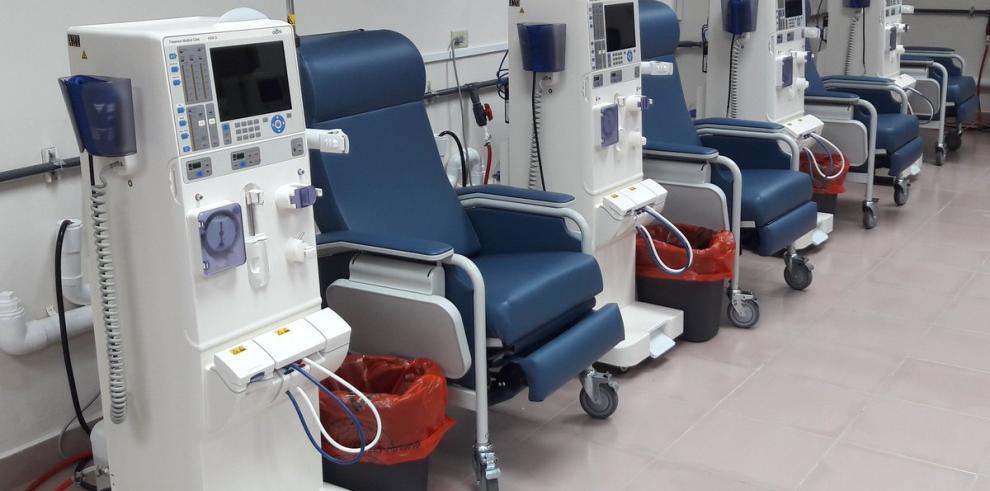 CSSinauguró nueva sala de hemodiálisis en el Hospital Santo Tomás
