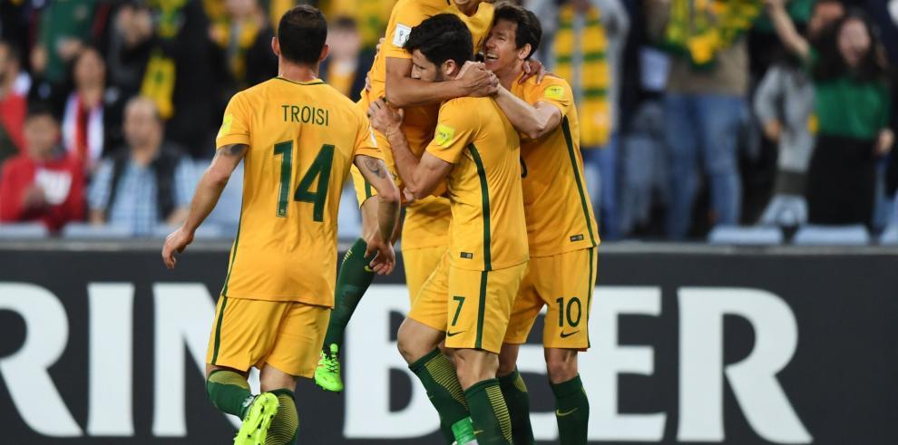 Honduras y Australia jugarán repesca para Rusia el 10 y 15 de noviembre