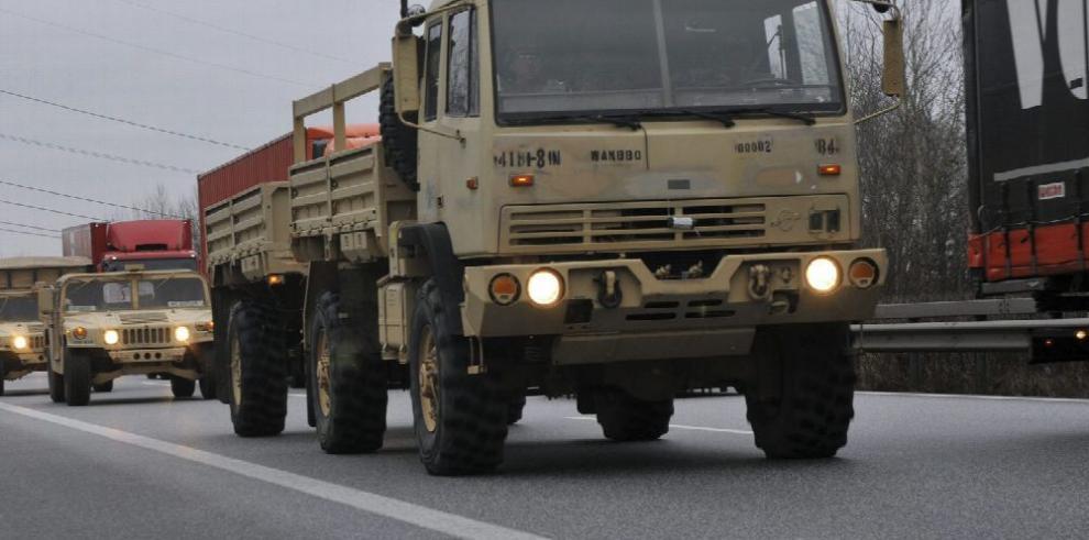 OTAN refuerza frontera oriental con tropas de EE.UU.