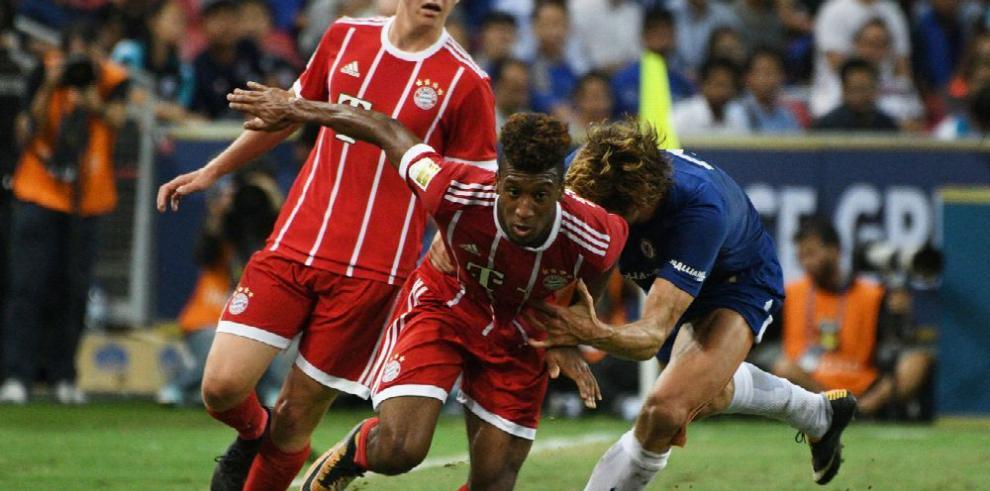 Bayern le aguó el debut a Morata