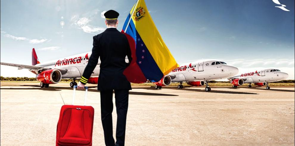 Avianca suspenderá vuelos a Venezuela desde el 16 de agosto