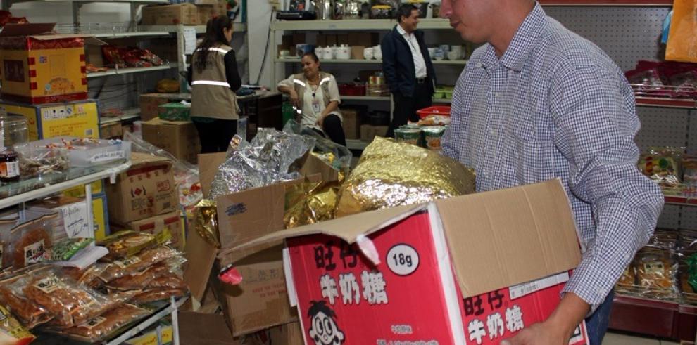 AUPSA decomisa productos chinos sin registro sanitario