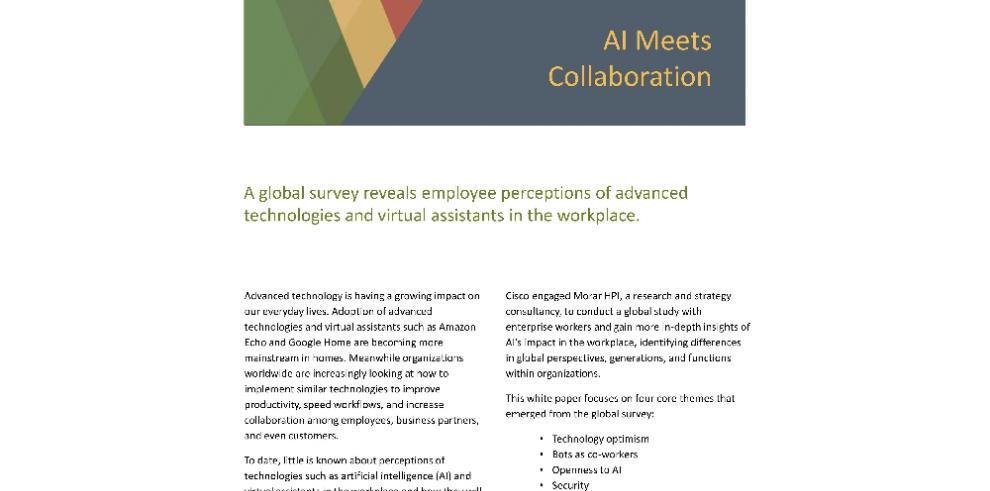 Trabajadores del mundo están dispuestos a interactuar con asistentes virtuales