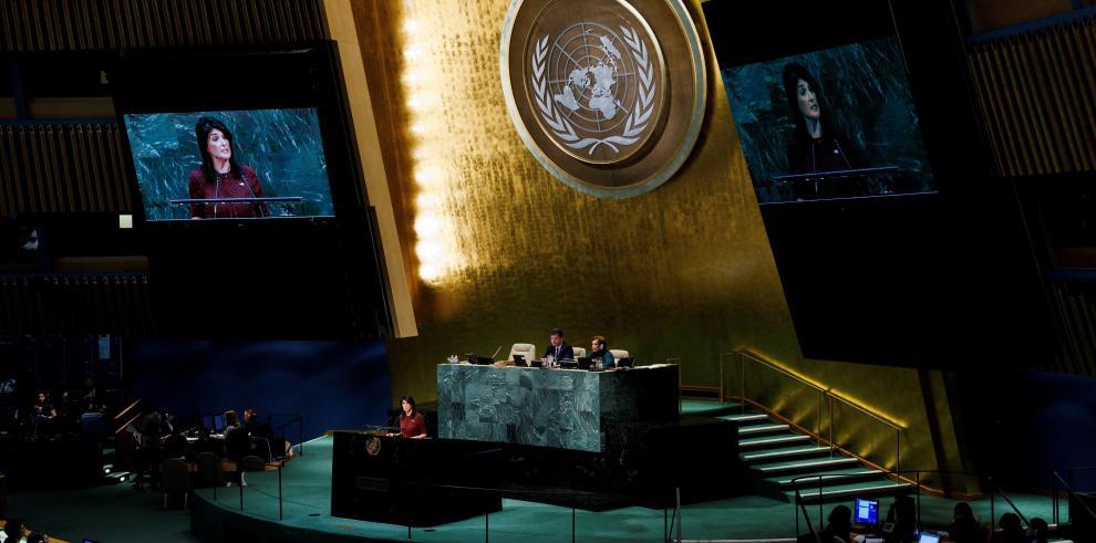 EEUU amenaza a quien vote en su contra en la ONU: 'Este día será recordado'