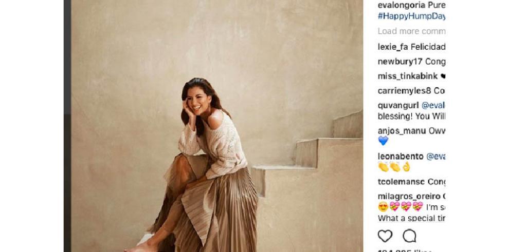 Eva Longoria brilla de pura felicidad tras conocerse que está esperando un niño