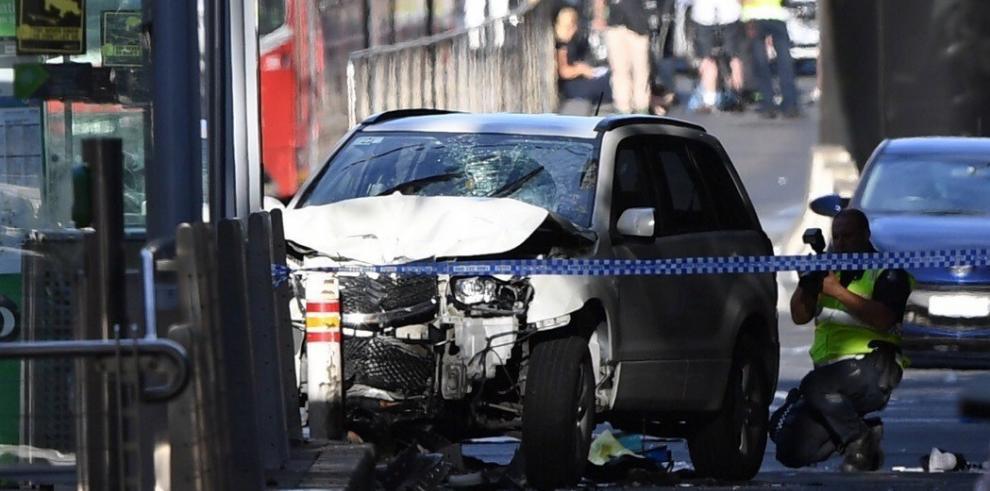Dos detenidos tras el atropello de al menos 15 personas en Melbourne