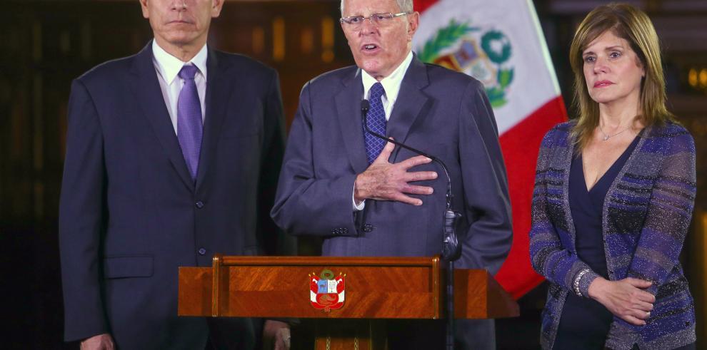 Kuczynski se encuentra en el Congreso para defenderse de pedido de destitución