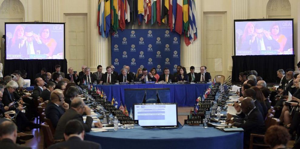 OEA, sin consenso ni resolución sobre Venezuela