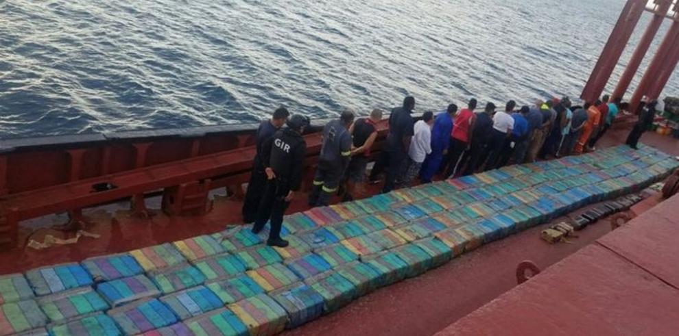 Operación Asturias se incauta de $2 millones y captura a 64 narcos