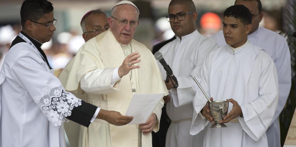 Cartagena le da la bienvenida al papa Francisco