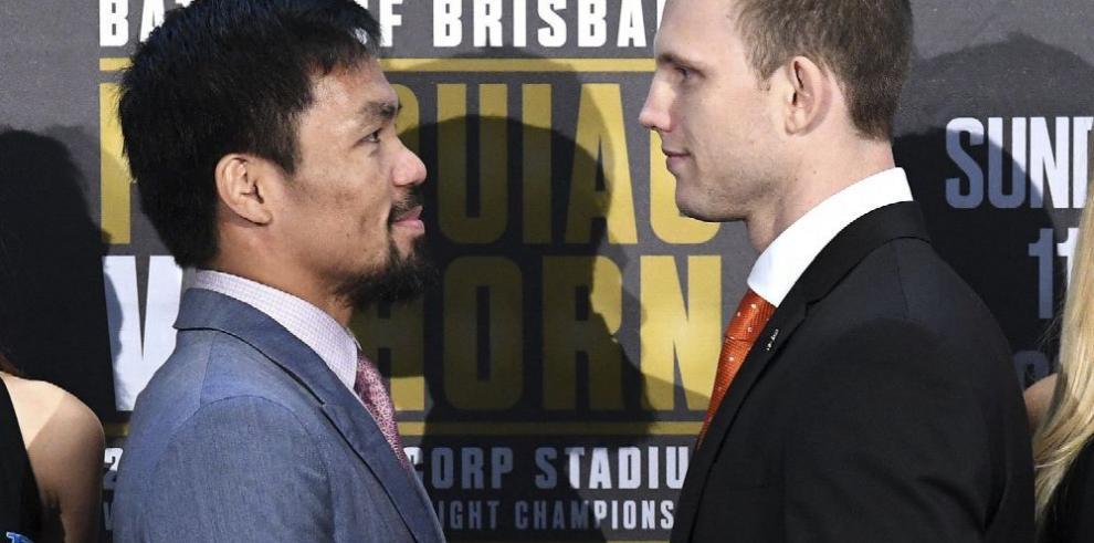 Pacquiao vs. Horn: 'la batalla de Brisbane'