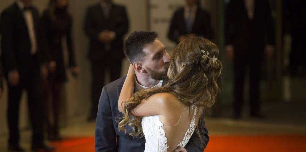 Las mejores fotos de la boda de Messi y Antonella Roccuzzo