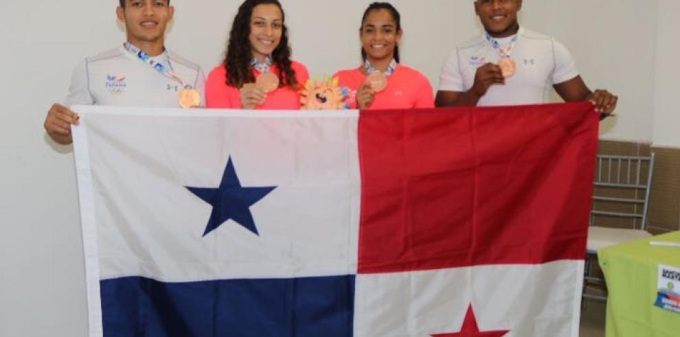 Judocas panameños suman preseas de bronces en los Juegos Bolivarianos