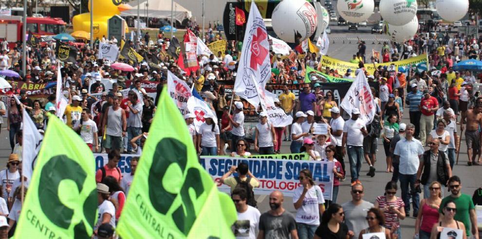 Huelga general contra Temer paraliza Brasil
