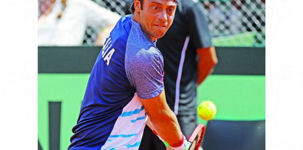 Lorenzi, Djere y Bedena, a semifinales en tenis de Budapest