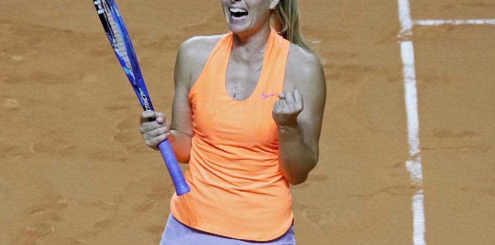Sharapova pisa fuerte y avanza a semifinales