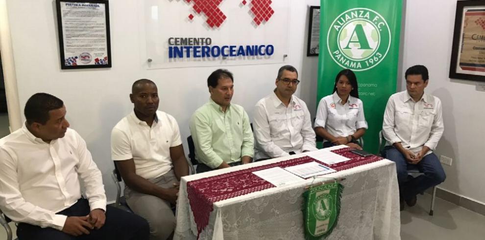 Alianza FC renueva con su patrocinador