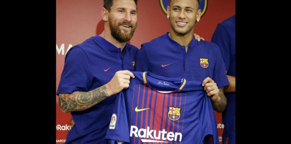 Messi y Neymar se incorporan a los entrenamientos