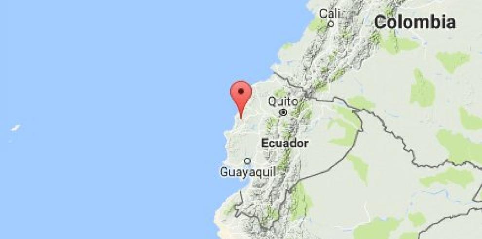 Sismo de 6,3 grados sacude a Ecuador