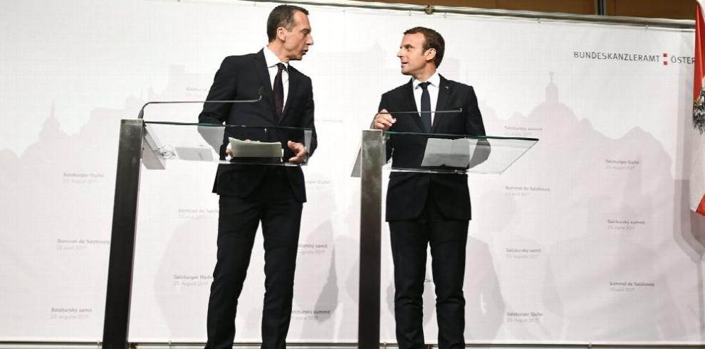Macron impulsa su plan de 'refundación' de Europa