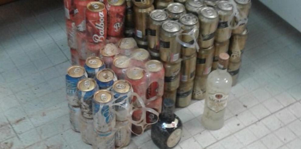 DGSP informa sobre hallazgo de licor a las afueras del Centro Penitenciario La Joyita