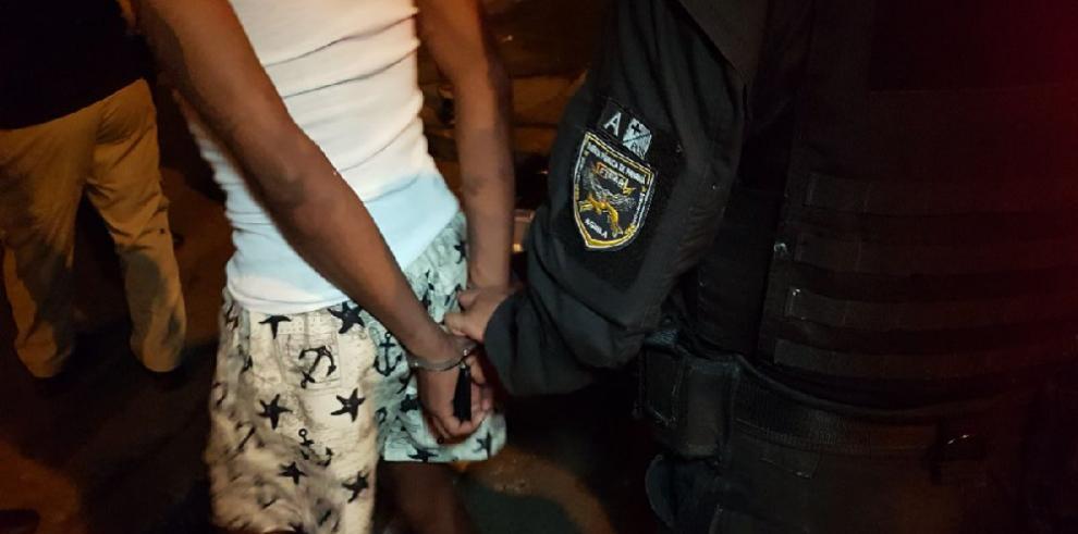 Varias personas detenidas en San Miguel durante operativo antipandillas